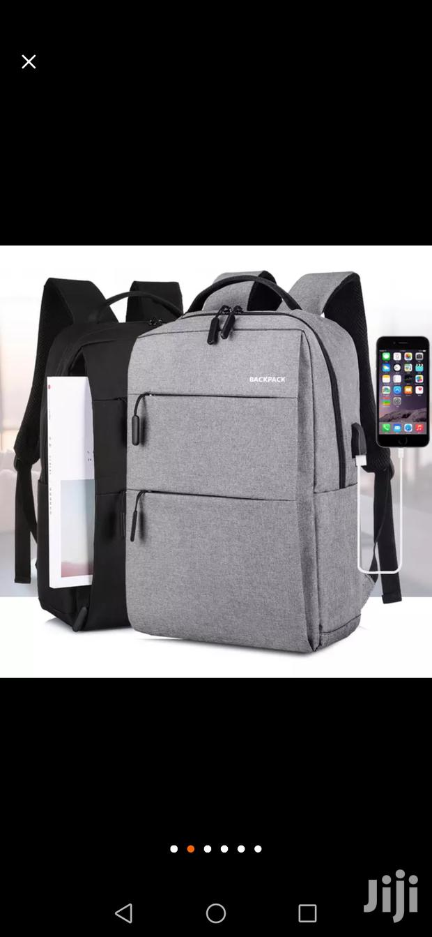 Archive: Unisex Anti-theft Travel Casual USB Laptop Bag Smart USB Port Backpack