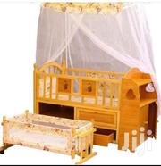 2 In 1 Brand New Baby Wooden Cot With Under Drawers | Children's Furniture for sale in Greater Accra, Asylum Down