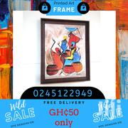 African Art With Frame | Arts & Crafts for sale in Greater Accra, Tesano