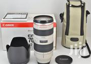 Canon Ef 70-200mm F/2.8L Usm Zoom Lens | Cameras, Video Cameras & Accessories for sale in Greater Accra, Kokomlemle