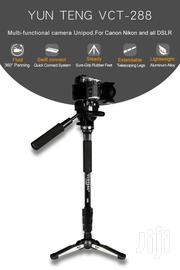 4.9ft Yunteng 288 Pro Photography Video Camera Monopod Tripod | Cameras, Video Cameras & Accessories for sale in Greater Accra, Accra Metropolitan