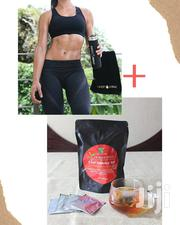 Sweet Sweat Waist Trimmer And Organic Slimtea Combo | Vitamins & Supplements for sale in Greater Accra, Teshie-Nungua Estates