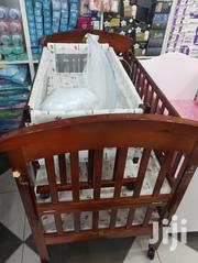 Deluxe 2 In 1 Baby Wooden Cot | Children's Furniture for sale in Greater Accra, Asylum Down
