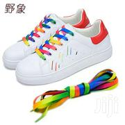 Multicolor Rainbow Shoelace   Clothing for sale in Eastern Region, Asuogyaman
