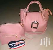 Quality Cute N Executive Leather Bags In Three Set's | Makeup for sale in Ashanti, Kumasi Metropolitan