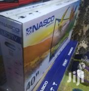 "Nasco 40"" Curved Fhd Digital Satellite LED Slim TV 