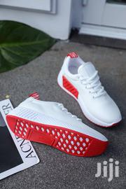 White And Red Sneaker | Shoes for sale in Greater Accra, Accra Metropolitan