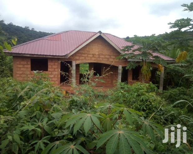 Archive: 70×100 Plot Of Land With 2 Bedroom Uncompleted House.