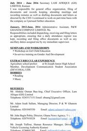 Office CV | Office CVs for sale in Greater Accra, Accra new Town