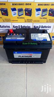 Battery 15 Plates Platinum Battery - Free Delivery - Camry | Vehicle Parts & Accessories for sale in Greater Accra, Achimota