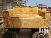 Yellow Gold Sofa Chair | Furniture for sale in Greater Accra, Abelemkpe