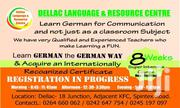 Study German For 8 Weeks And Speak Fluently.   Classes & Courses for sale in Greater Accra, Bubuashie