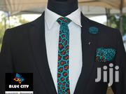 BLUE CITY African Print Flying Tie | Clothing Accessories for sale in Greater Accra, Odorkor