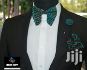 BLUE CITY African Print Butterfly Bow Tie Set | Clothing Accessories for sale in Greater Accra, Odorkor