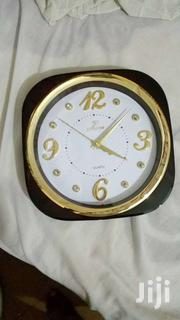 Brown And Gold Wall Clock | Home Accessories for sale in Greater Accra, Airport Residential Area
