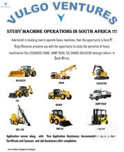 Study Heavy Machine Operations In South Africa | Travel Agents & Tours for sale in Ashanti, Kumasi Metropolitan