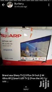 Sharp 4k Ultra HD Smart TV From UK 50 Inches | TV & DVD Equipment for sale in Greater Accra, Adenta Municipal