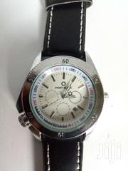 Mont Blanc Black Leather Watch | Watches for sale in Ashanti, Kumasi Metropolitan