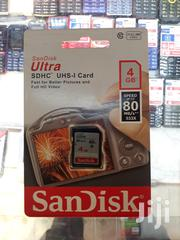 4GB SD Card For Digital Camera   Cameras, Video Cameras & Accessories for sale in Greater Accra, East Legon (Okponglo)