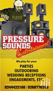 Dj Spinning PA System Rental | DJ & Entertainment Services for sale in Greater Accra, Kokomlemle