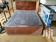 Strong Double Leather Bed | Furniture for sale in Greater Accra, Adenta Municipal