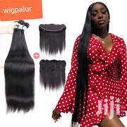 "Italian Hair 40"" 3 Bundle With 20"" Frontal 