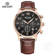 Megir Brand Multifunction Chronograph Business Watch | Watches for sale in Greater Accra, Achimota