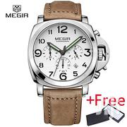 Megir 3406 Silver Case Analog Watch | Watches for sale in Greater Accra, Achimota