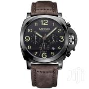 Megir 3406 Black Chronograph Watch | Watches for sale in Greater Accra, Achimota