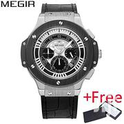 Megir Fashion Leather Quartz Watch | Watches for sale in Greater Accra, Achimota