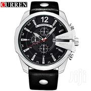 CURREN 8176 Men's Fashionable Stainless Steel Analog Wrist Watch | Watches for sale in Greater Accra, Abelemkpe