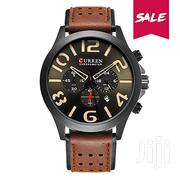 CURREN 8244 Casual Men Quartz Watch | Watches for sale in Greater Accra, Abelemkpe