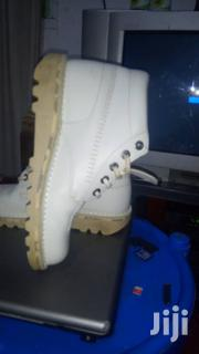 White Leather Kickers | Shoes for sale in Greater Accra, Achimota
