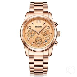 Luxury Brand Ladies Sport Wrist Watch Rose Gold