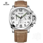 MEGIR 3406 Fashion Men Quartz Watch | Watches for sale in Greater Accra, Abelemkpe