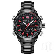 Naviforce 9093 Chain Watch Black Red | Watches for sale in Greater Accra, Achimota