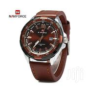 Naviforce 9056 Leather All Brown Watch | Watches for sale in Greater Accra, Achimota
