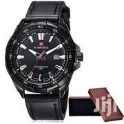 Naviforce 9056 Leather Strap Watch | Watches for sale in Greater Accra, Achimota