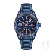 NAVIFORCE 9117 Top Brand Luxury Men Watch Blue | Watches for sale in Greater Accra, Achimota