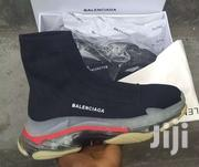 BALENCIAGA SOCKS (Black With Red) | Clothing Accessories for sale in Greater Accra, Accra Metropolitan