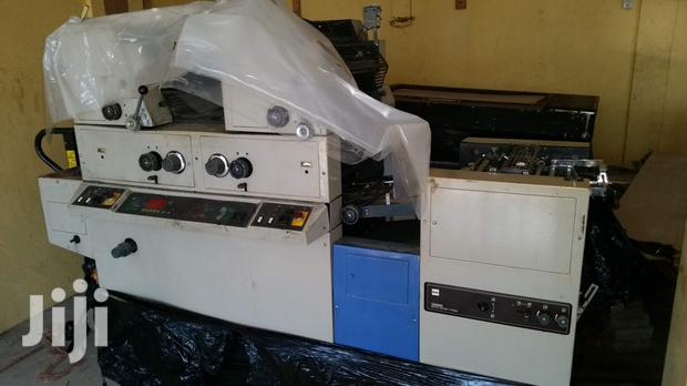 Archive: Assorted Printing, Cutting & Folding Machines From UK