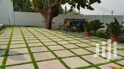 ARTIFICIAL GRASS AVAILABLE. | Garden for sale in Greater Accra, North Kaneshie