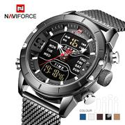 Top Brand Luxury NAVIFORCE 9153 LED Sport Military Waterproof Watch | Watches for sale in Greater Accra, Achimota