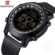 Naviforce 9130 Mega Digital Men Watch - White Lube | Watches for sale in Greater Accra, Achimota