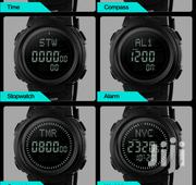Black Silicon Skmei Digital Watch | Watches for sale in Greater Accra, Achimota
