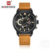 Naviforce Casual Watch For Men Display Leather Strap | Watches for sale in Greater Accra, Achimota