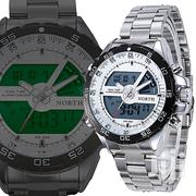 North Mens Business Digital Analog Bracelet Watch | Watches for sale in Greater Accra, Achimota