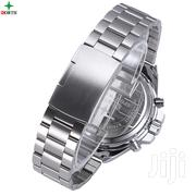 North Silver Stainless Steel Chain Analog Digital Watch | Jewelry for sale in Greater Accra, Achimota