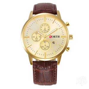 North Gold Analog Watch
