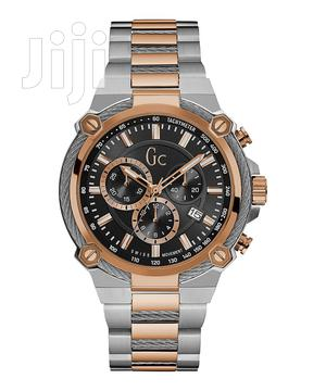 GC Rose Gold And Silver Cableforce Metal Watch